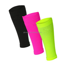2017 China supplier Oem custom unisex adult runners sports basketball elastic knee calf support compression leg sleeve