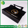 Top quality Eye-catching Black Bulk cheap nonwoven custom utility tote bag