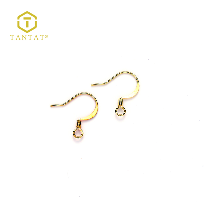 Brass and Gold Plated Earring Hooks Accessories Wholesale