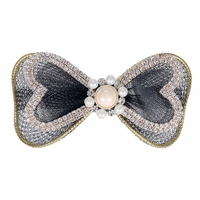 The new bowknot pearl pin! Joker elegant and lovely hairpin