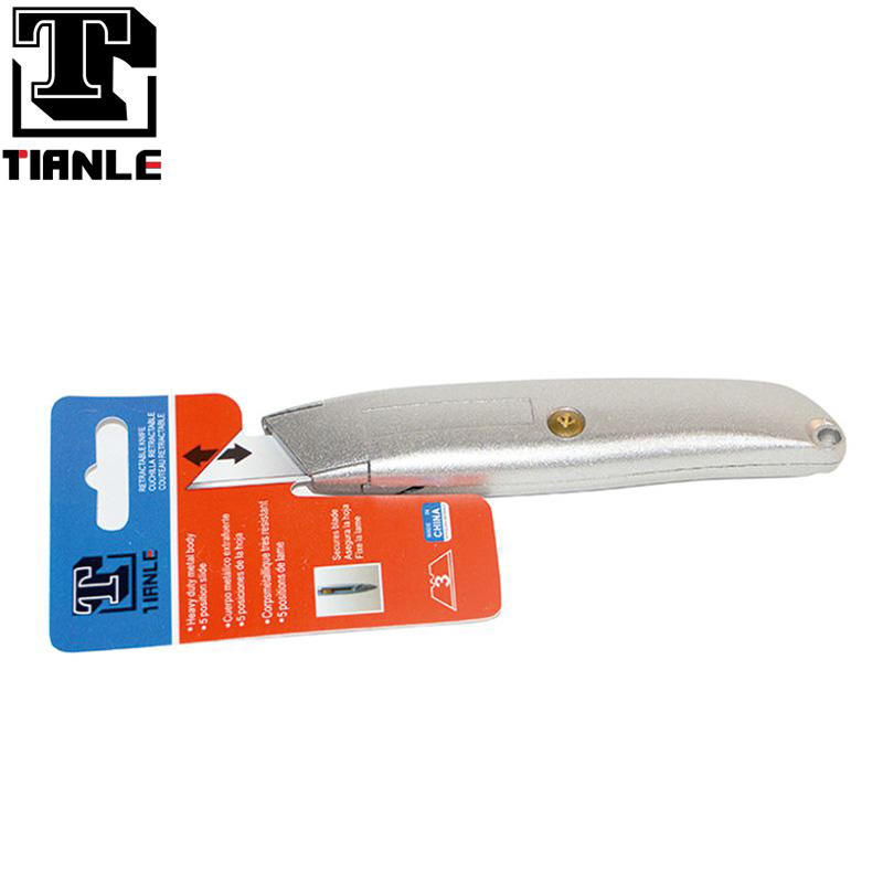 TIANLE high quality heavy duty metal body cutter knife Safe and reliable