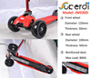Folding 3 big wheel 120/100x50mm maxi push Pro wholesale micro scooter