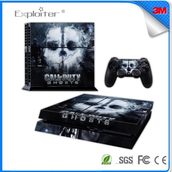 Factory in china decal sticker for playstation 4 console