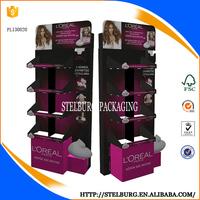 Paper Corrugated Cosmetics Cardboard Display