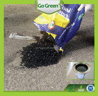 Go Green superior cold mix asphalt as permanent road repair material