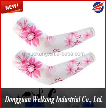SPORT COMPRESSION POLYESTER QUICK DRY SUBLIMATION PRINT ARM SLEEVE