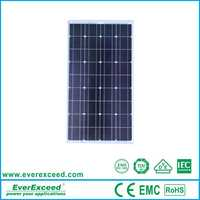 280W High efficiency polycrystalline solar panels used for Water Treatment works
