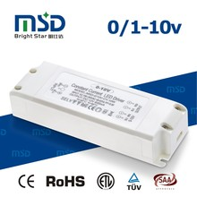 10W 0-10V pwm dimmable power supply ac 220V to dc 12V 24V adapter constant voltage LED driver with ce saa rohs etl approved