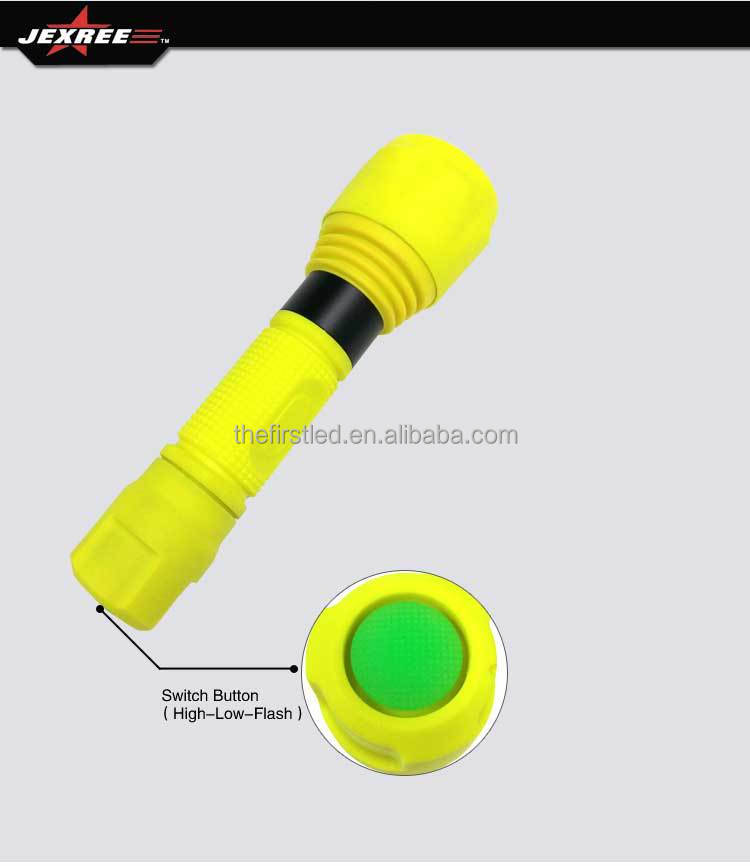 High powerful XP-G LED rechargeable diving flashlights waterproof torch