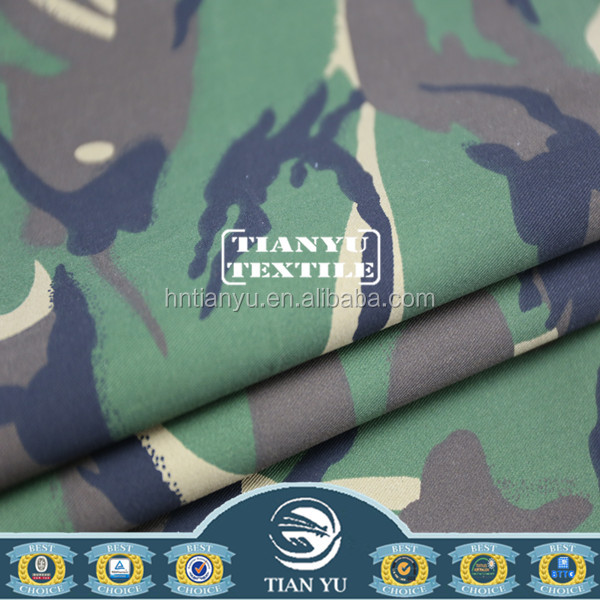 Protective Work Clothing With Camouflage Pattern Fabric