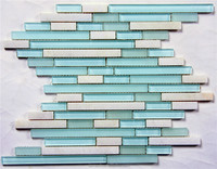 STRIP GLASS TILES FOR HOTEL HOT SALE