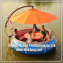 Plastic small lobster boat, fishing boat