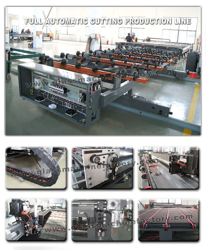 Automatic Glass Cutting Machine Price CE Glass Cutting Machinery in China