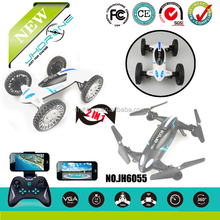 JHDRONE JH6055 2.4G 4CH 720P WIFI CAMERA Fly & Drive 6-axis Gyro 360 Degree Rc Quadcopter Drone