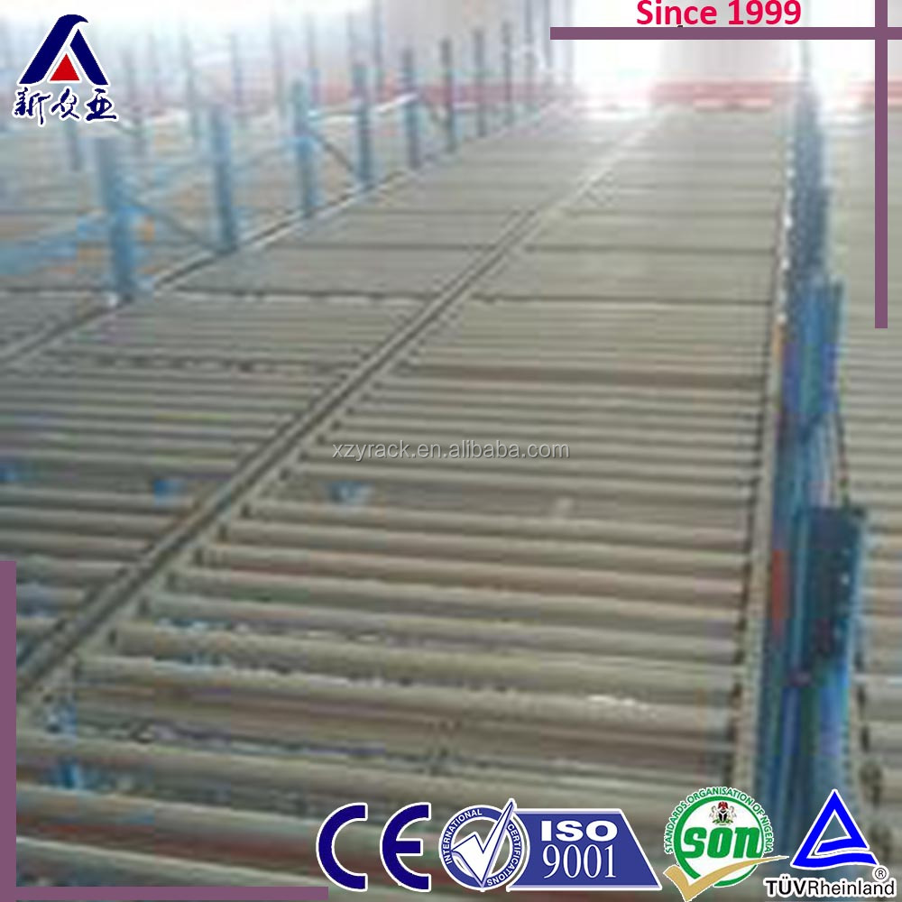 china specialized CE certificate leather storage rack, gravity flow pallet racking, pallet racking load capacity