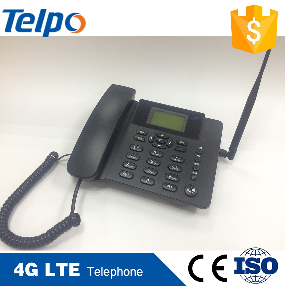Cheaper Price Ethiopia Gsm 4G Lte Desktop Waterproof Landline Phones In Corded Phone