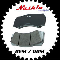 Taiwan Nashin auto parts high performance racing brake pads