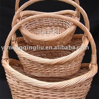 Boat Shape Large Wicker Gift Baskets