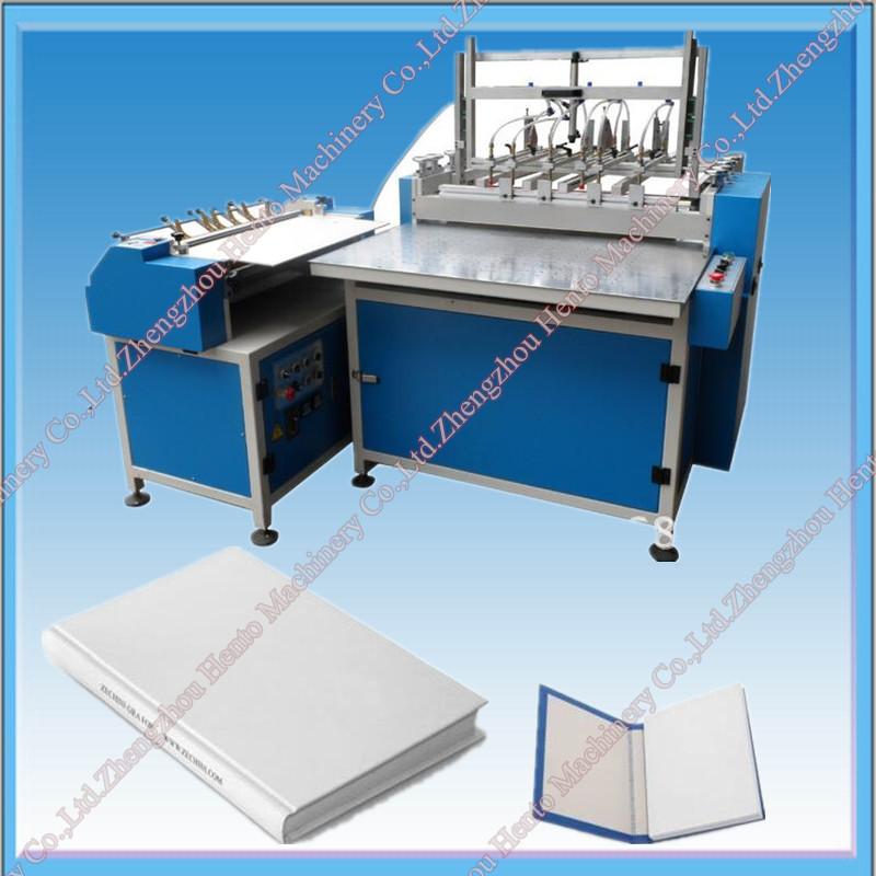 Book Covering Machine : Cheaper price hard cover book making machine in china