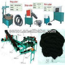 Semi-automatic Waste Tyre Recycling Plant / Rubber Crumb Plant