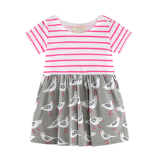 Toddler <strong>Girl's</strong> <strong>Dress</strong> 3D Print Short Sleeve Swing Skirt Casual Kids Party <strong>Dress</strong>