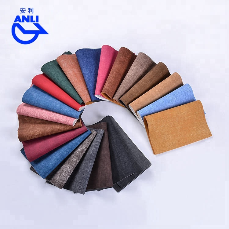 Best selling fabric pattern waterproof Pu synthetic <strong>leather</strong> for making casual bags