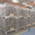 Galvanized foldable and stackable wire mesh cages
