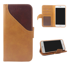 Wholesale Luxury Flip card wallet pu Leather Mobile Cell Phone Case For Apple IPhone 5 6 7 8 X