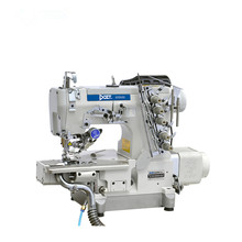DT 600-35BB/EUT/DD Direct drive left-side cutter cylinder bed high speed industrial interlock sewing machine