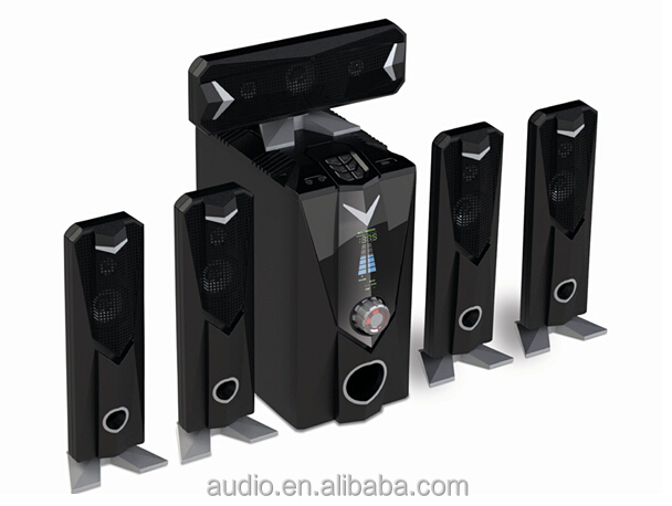 Hot sale 5.1 wireless speakers surround home theater used for home with bluetooth