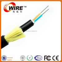 armoured 12 core fiber optic cable 2 core single mode fiber optic cable adss fiber optic