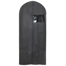 Dustproof PE Garment Cover Bag , Non-woven Cloth Garment Bag