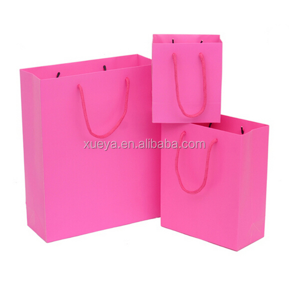 2017 custom wedding high quality candy bag/guess paper bag