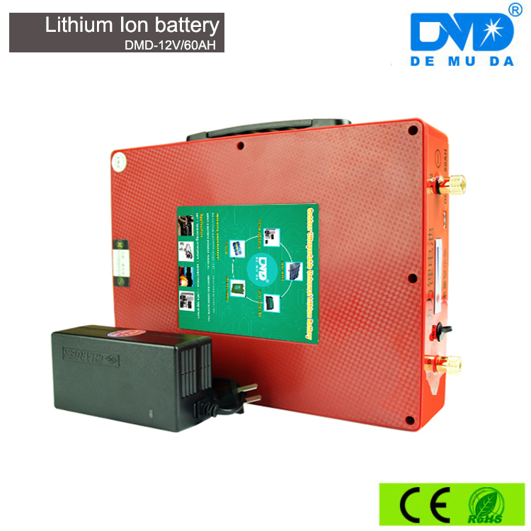 ultra light deep cycle rechargeable lithium dry cell lithium ion ups solar power storage battery