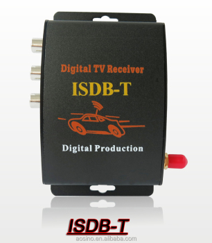 CAR Digital TV receiver ISDB-T TV Box