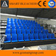 Guangzhou Smart bleachers indoor gym bleachers with foldable plastic seats