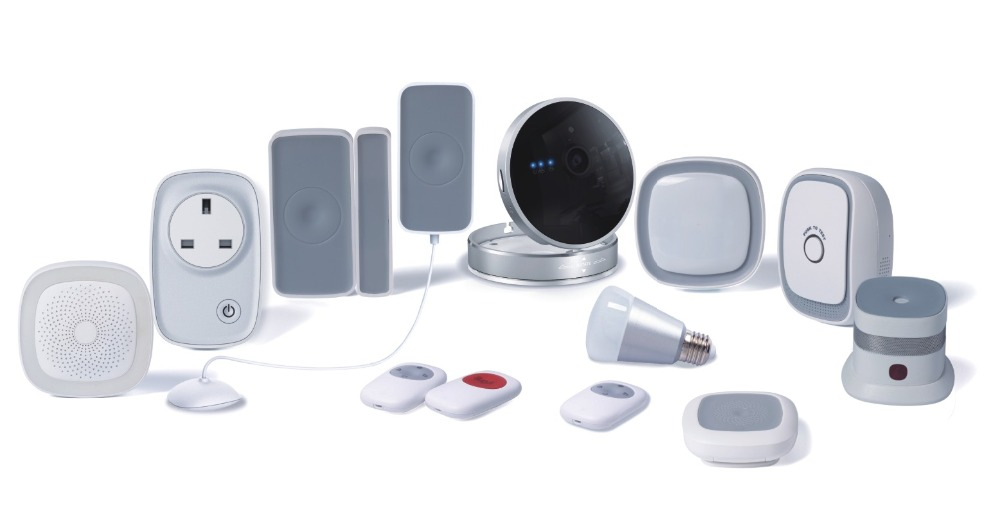 Android/IOS Control Wireless ZigBee Zwave Smart Home Automation