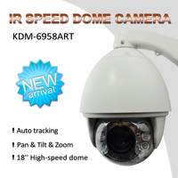 Alibaba china manufacturer 1080P IP 20X dome auto tracking ptz camera