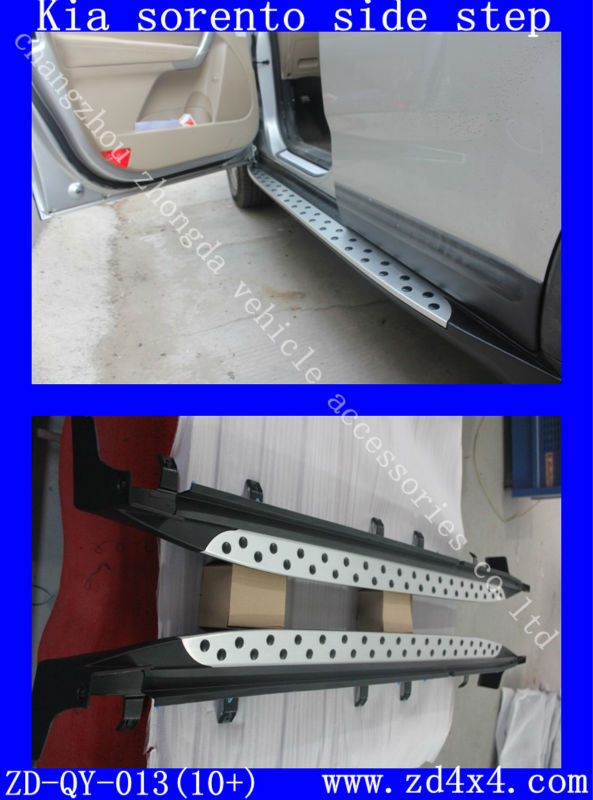 side step for kia sorento,KIA SORENTO R running boards,kia sorento auto motor pedal plate accessories parts