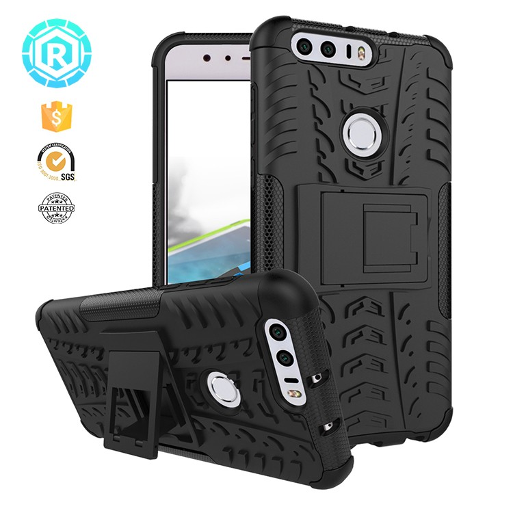 Outdoor cover case for huawei honor 8 covers tpu pc handy case cover for huawei Honor 8