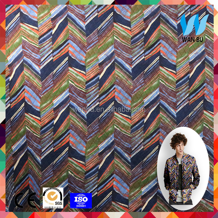 ACRYLIC NYLON KNIT WATER PRINT FABRIC FOR SWEATER in china wholesale
