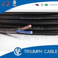 CCC 227 IEC 53 RVV 1.5mm square PVC unshielded cable 2 core cable