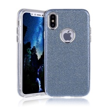 protective Ultra Thin Luxury silicone tpu glitter bling cell phone case phone case for iphone 8 huawei lg g2 ztc