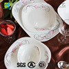 Most popular 38pcs square opal dinnerware sets