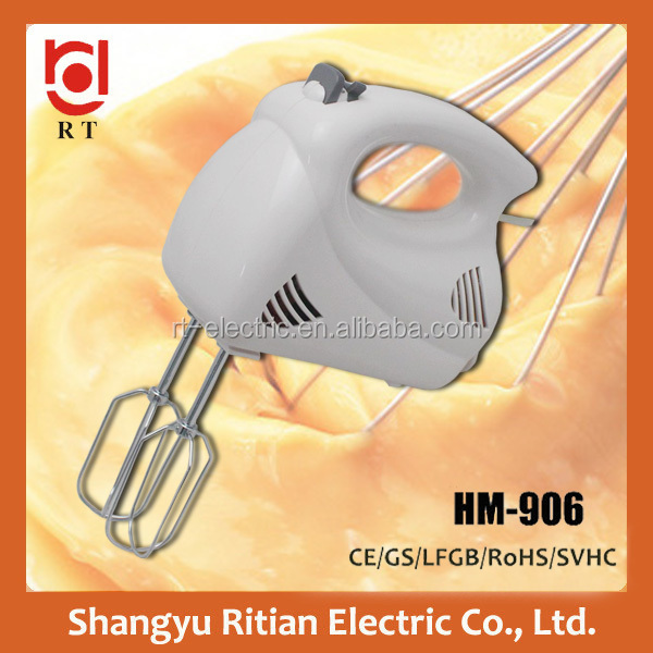 150W Plastic hand mixer egg beater/hand held egg mixer/blender mixer