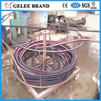 High quality flexible rubber hose for transporting oil, paint, water
