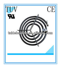 Electric coil heater element for kitchen