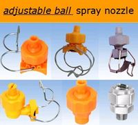 adjustable nozzle for low pressure spraying