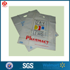 Plastic bags die cut pharmacy/medicine handle hospital package