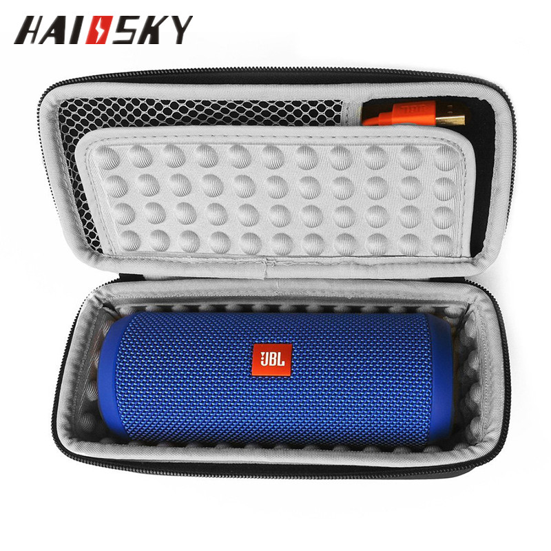 HAISSKY Hard Travel Case Waterproof Portable Case Shockproof <strong>Protecter</strong> for JBL Flip 3